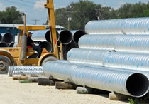 ju0026j drainage products offers corrugated steel pipe 6 to 144 inches in diameter and